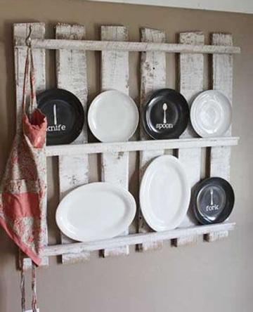 muebles de palets para cocina platera