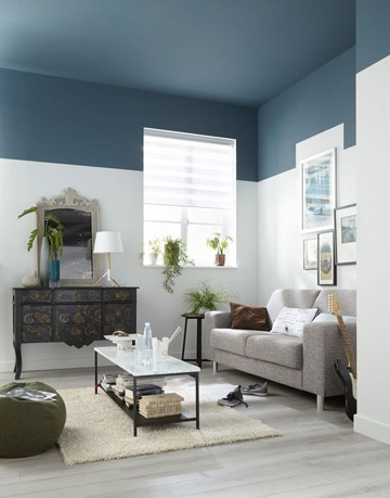 aprende a combinar pinturas para salas modernas como decorar mi cuarto. Black Bedroom Furniture Sets. Home Design Ideas