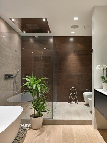 pisos para baños modernos textura