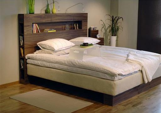 respaldos de cama modernos con revistero