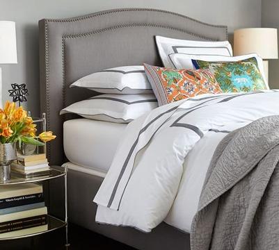 respaldos de cama modernos tapizado
