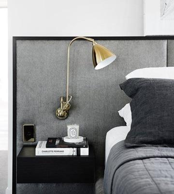 respaldos de cama modernos tonos grises