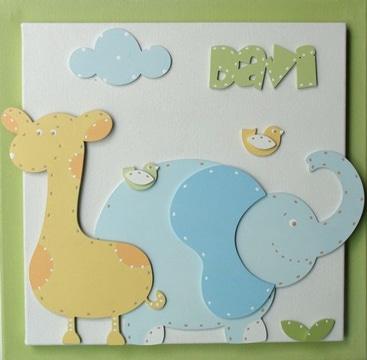 adornos para cuarto de bebe cuadro decorativo