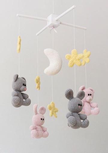 adornos para cuarto de bebe moviles