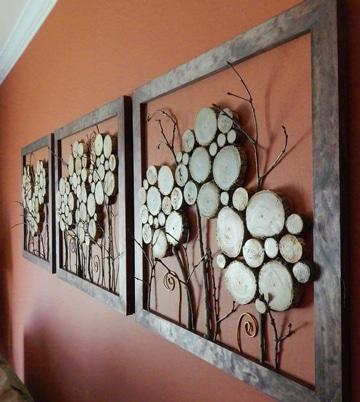 La naturaleza inspira con estos arboles para decorar paredes | Como ...
