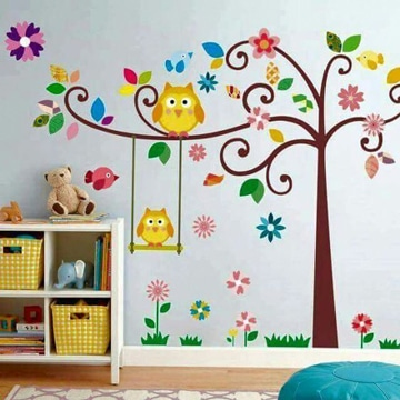Decorar pared infantil decoracin infantil con fieltro for Paredes sensoriales