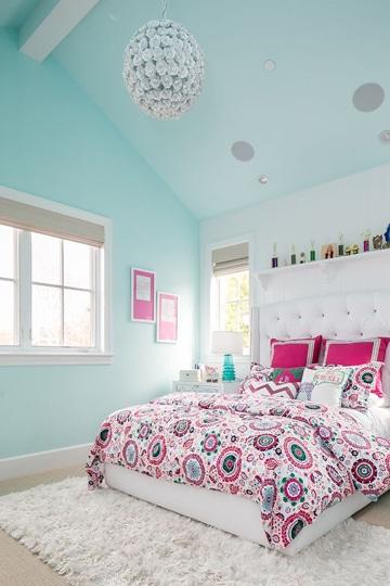 Atr vete con estos colores bonitos para cuartos juveniles for Cuartos decorados azul