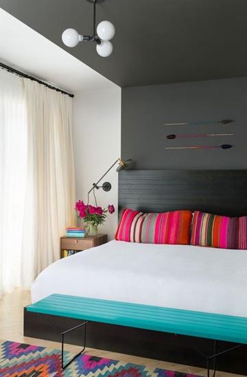 colores para habitaciones de mujer moderna