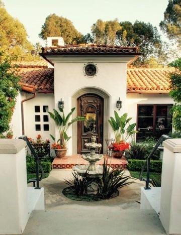 Mira estas ideas para saber como decorar la entrada de la - Ideas para entradas de casa ...