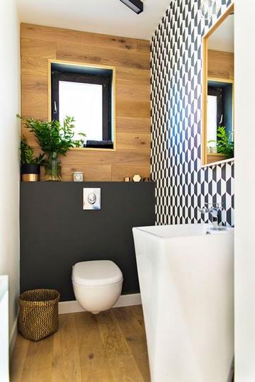 como decorar un baño chico moderno