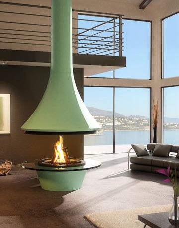 Como hacer una chimenea decorativa y funcional para tu sala Como