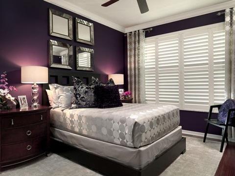 Te ense amos como pintar un cuarto de dos colores como - Colores de pared para habitacion ...