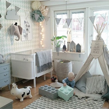 como remodelar un cuarto para bebes
