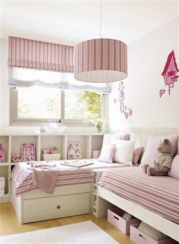 como remodelar un cuarto para niñas