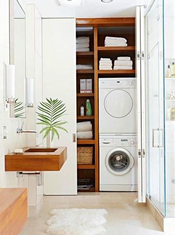 cuartos de lavado modernos discreto