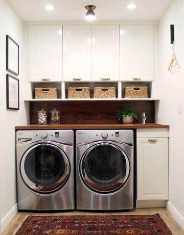 cuartos de lavado modernos pequeños
