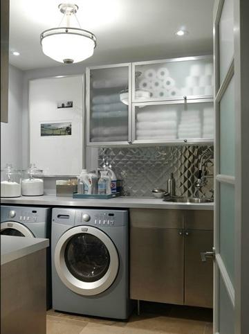 cuartos de lavado modernos y elegantes