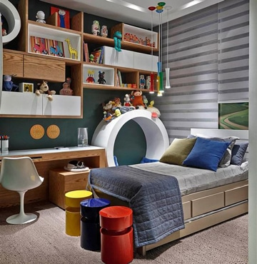 cuartos pequeños para niños decoracion
