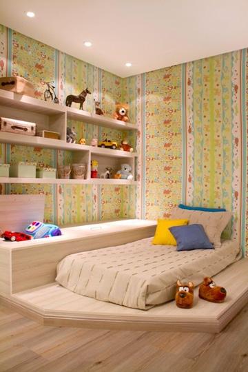 cuartos pequeños para niños diseño simple