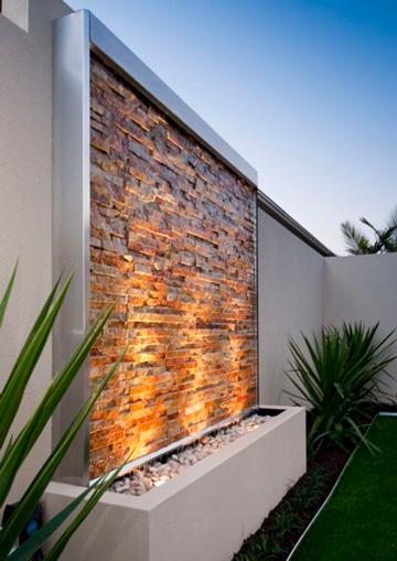Buenas ideas para decoracion de patios y jardines peque os for Jardines pequenos con luces