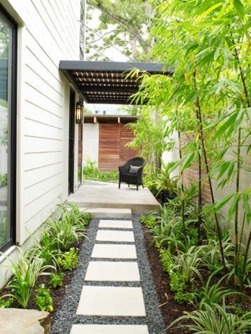 decoracion de patios y jardines pequeños en casa