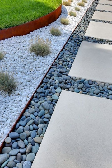 Buenas ideas para decoracion de patios y jardines peque os for Decoracion jardin grava