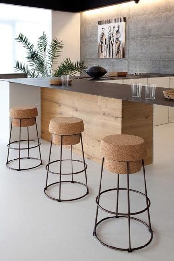 diseño de bares para casas minimalista