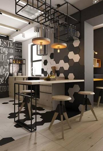 diseño de bares para casas pequeñas
