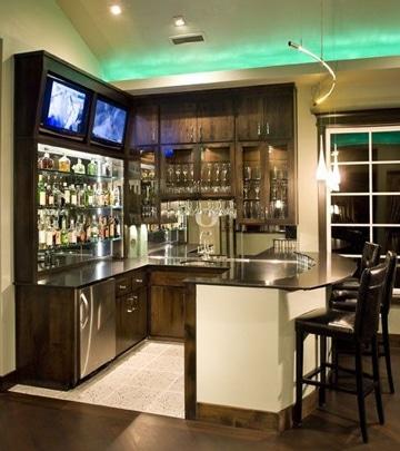 diseño de bares pequeños en casa