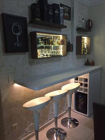 diseño de bares pequeños minimalistas