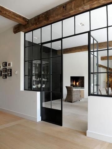 diseños de puertas de metal para casas modernas