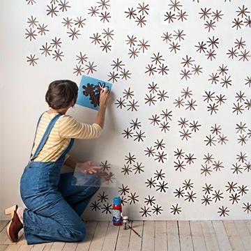 diseños para pintar cuartos con patrones