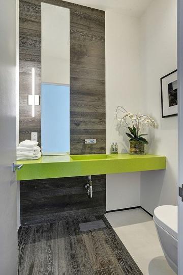 enchapes para baños pequeños modernos