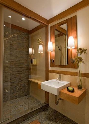 enchapes para baños pequeños y bonitos