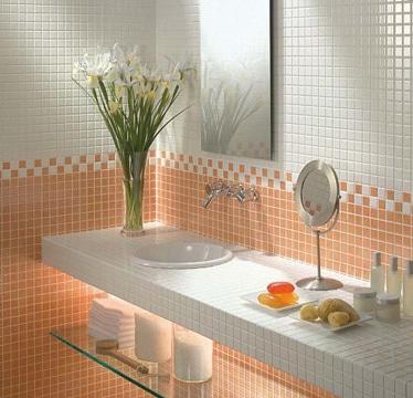 enchapes para baños pequeños y sencillos
