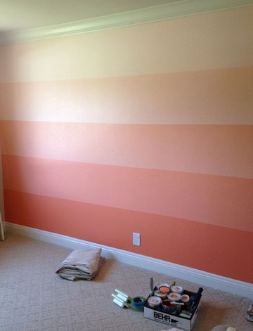 ideas para pintar tu cuarto colores degradados