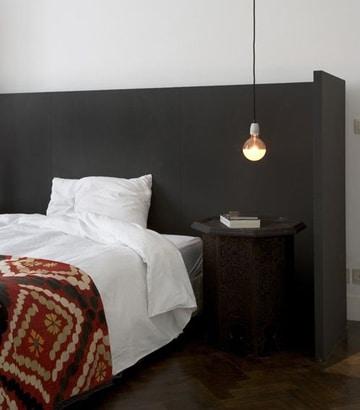 lamparas de mesita de noche modernas y sencillas