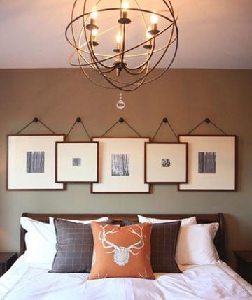 conoce varios estilos en lamparas de techo para recamaras