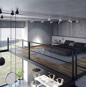 lamparas de techo para recamaras estilo urbano