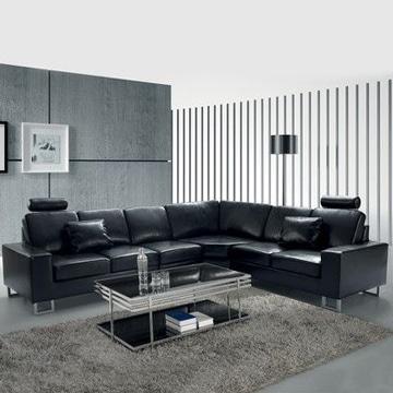 muebles para sala modernos de cuero