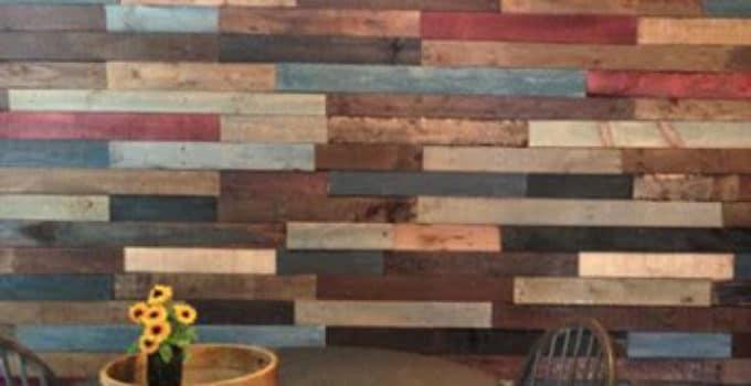 paredes decoradas con madera | Como decorar mi cuarto