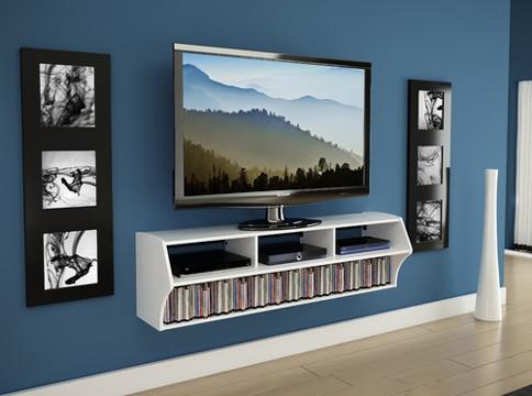 descubre las ventajas de las repisas flotantes para tv. Black Bedroom Furniture Sets. Home Design Ideas