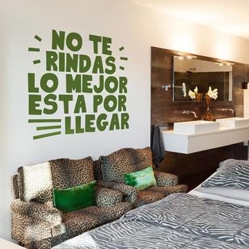 vinilos decorativos para salas con frases