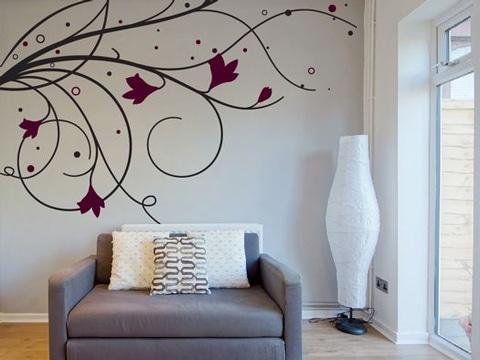 Transforma tu hogar con estos vinilos decorativos para for Adornos decorativos para sala