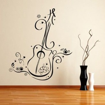Transforma tu hogar con estos vinilos decorativos para - Vinilos decorativos musicales ...
