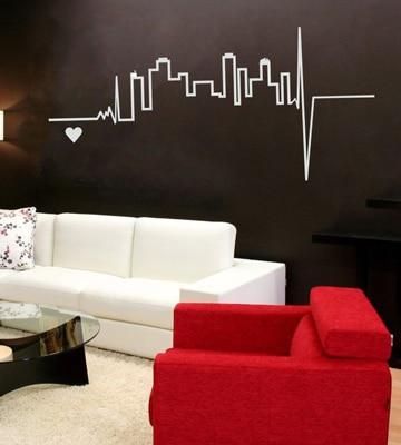 Transforma tu hogar con estos vinilos decorativos para for Sala vinilo