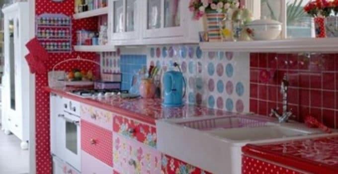 Forrar muebles cocina madera vinilos para with forrar - Como forrar muebles de cocina ...