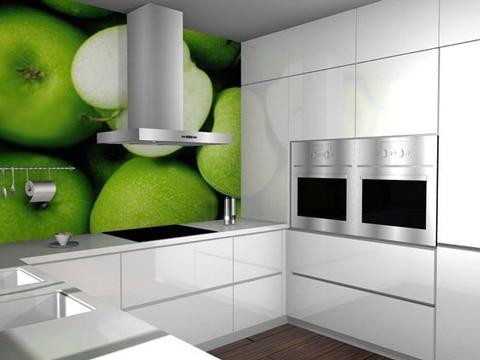 vinilos para muebles de cocina de frutas