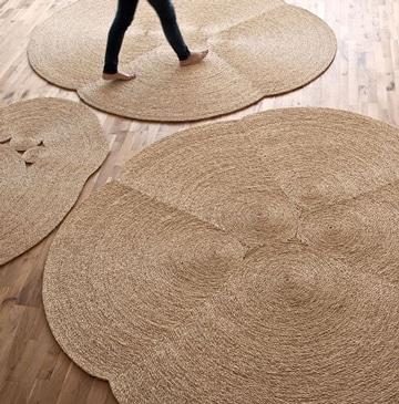 alfombras hechas a mano artesanales