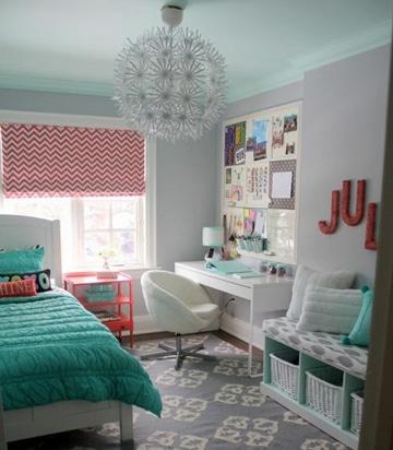 colores para cuartos de mujer adolescente